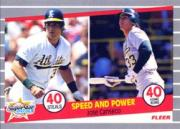 1989 Fleer #628 Jose Canseco 40/40