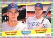 1989 Fleer #641 Kevin Brown/Kevin Reimer