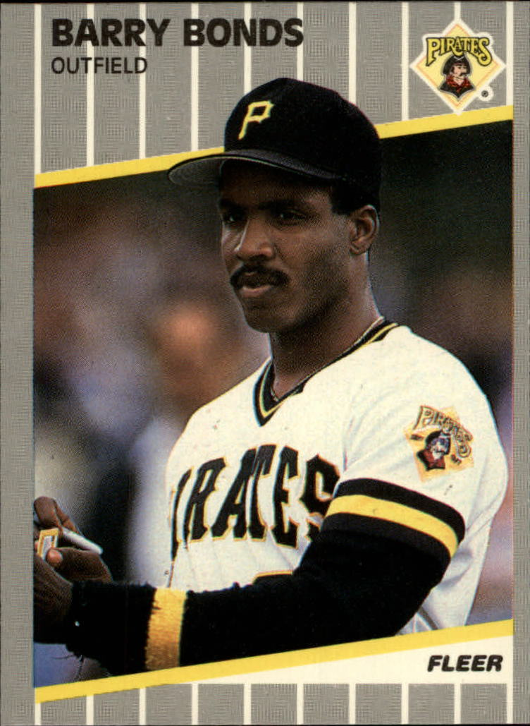 1989 Fleer Glossy #202 Barry Bonds