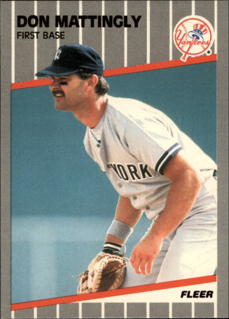 1989 Fleer Glossy #258 Don Mattingly