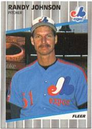 1989 Fleer Glossy #381 Randy Johnson