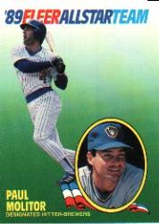 1989 Fleer All-Stars #8 Paul Molitor