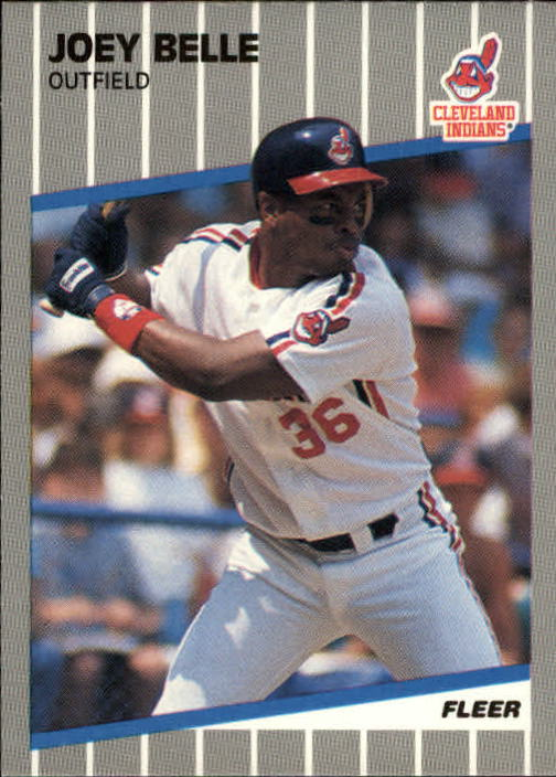 1989 Fleer Update #25 Albert Belle RC