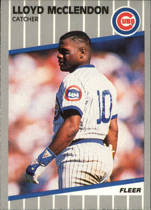 1989 Fleer Update #77 Lloyd McClendon