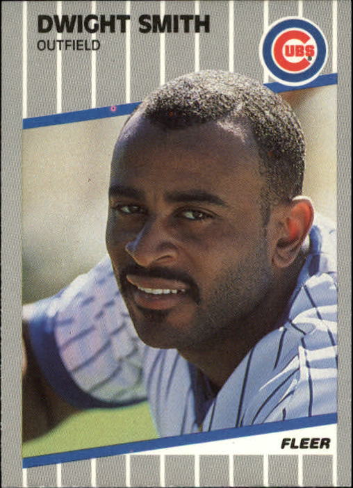 1989 Fleer Update #79 Dwight Smith RC