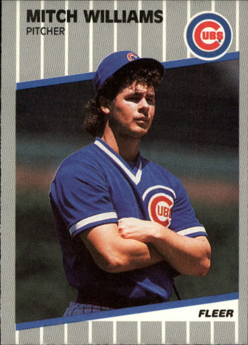 1989 Fleer Update #81 Mitch Williams