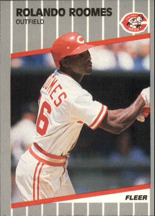 1989 Fleer Update #86 Rolando Roomes