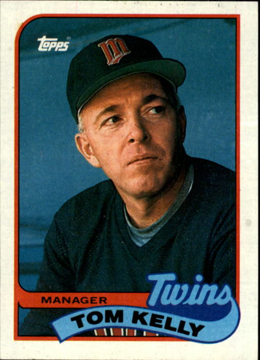 1989 Topps #14 Tom Kelly MG