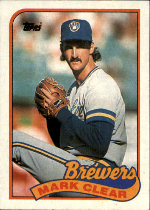 1989 Topps #63 Mark Clear