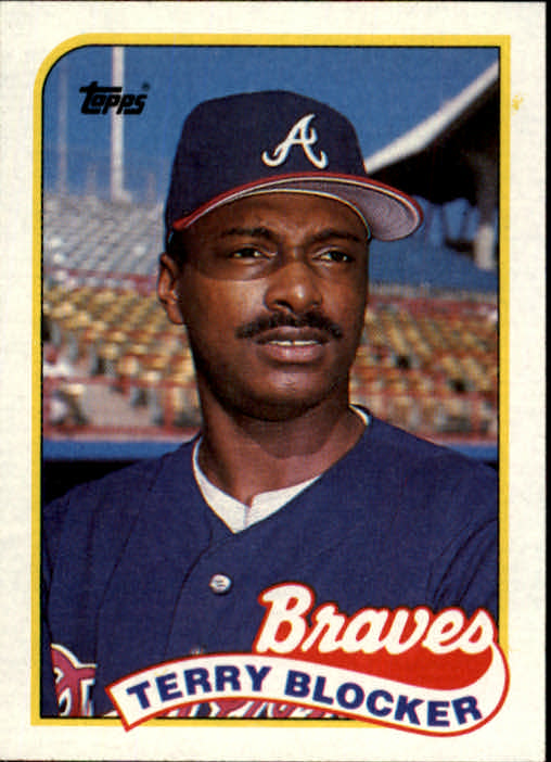 1989 Topps #76 Terry Blocker