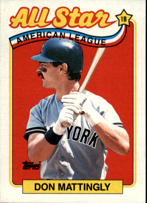 1989 Topps #397 Don Mattingly AS