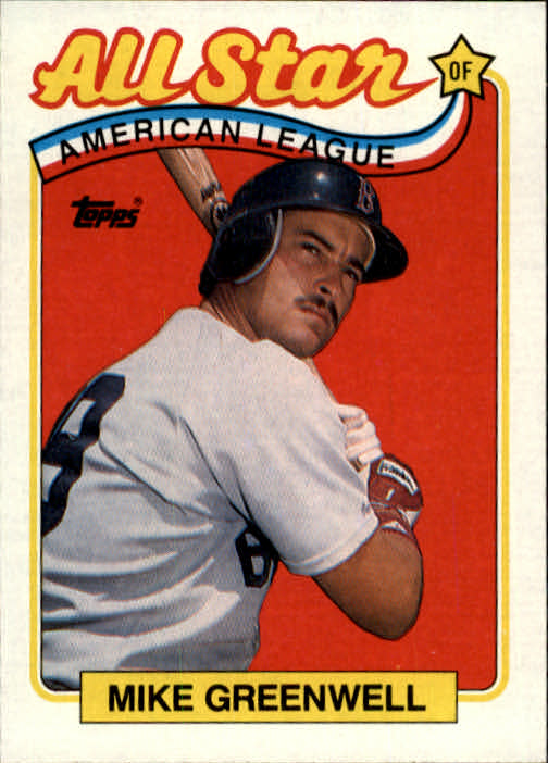 1989 Topps #402 Mike Greenwell AS