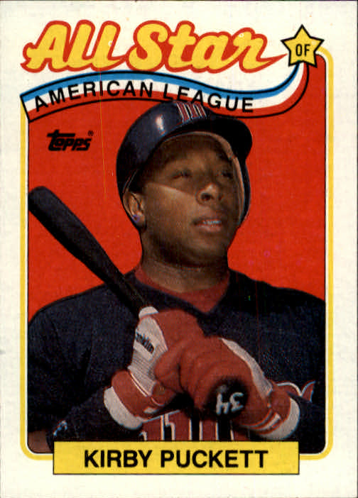 1989 Topps #403 Kirby Puckett AS