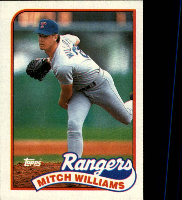 1989 Topps #411 Mitch Williams