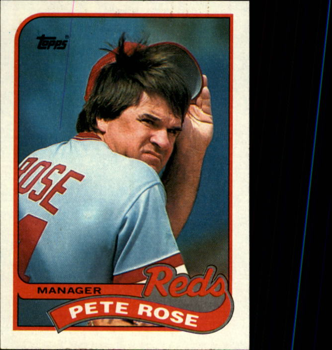 1989 Topps #505 Pete Rose MG/TC