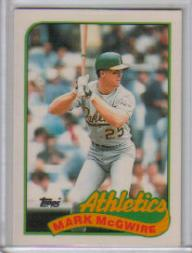 1989 Topps Tiffany #70 Mark McGwire