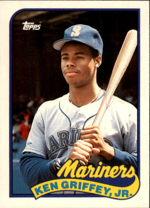 1989 Topps Traded #41T Ken Griffey Jr. RC