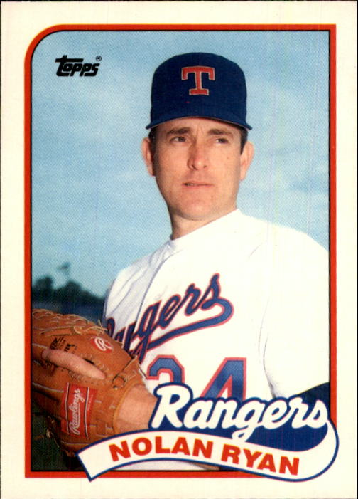 1989 Topps Traded #106T Nolan Ryan