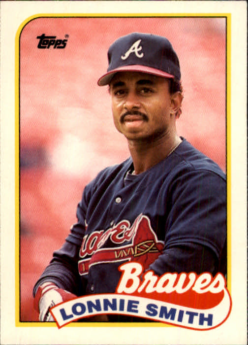 1989 Topps Traded #114T Lonnie Smith