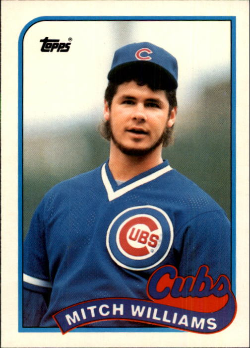 1989 Topps Traded #130T Mitch Williams