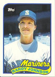 1989 Topps Traded Tiffany #57T Randy Johnson