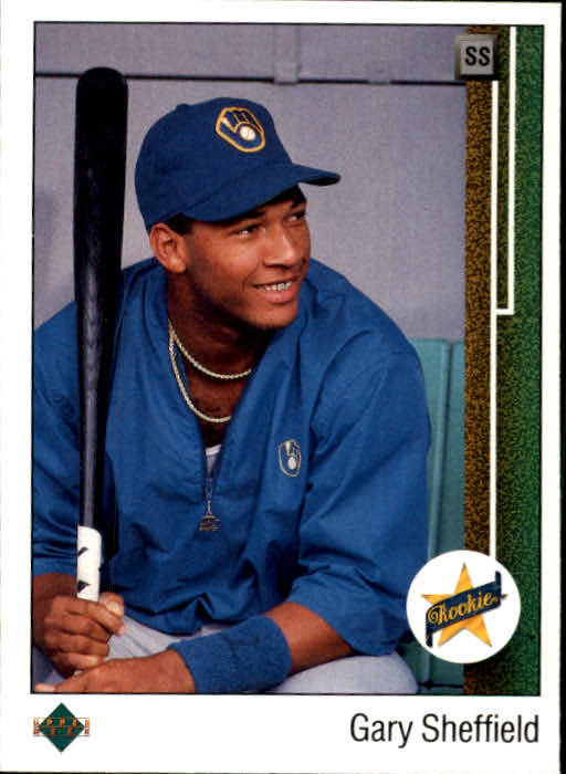 1989 Upper Deck #13 Gary Sheffield COR RC