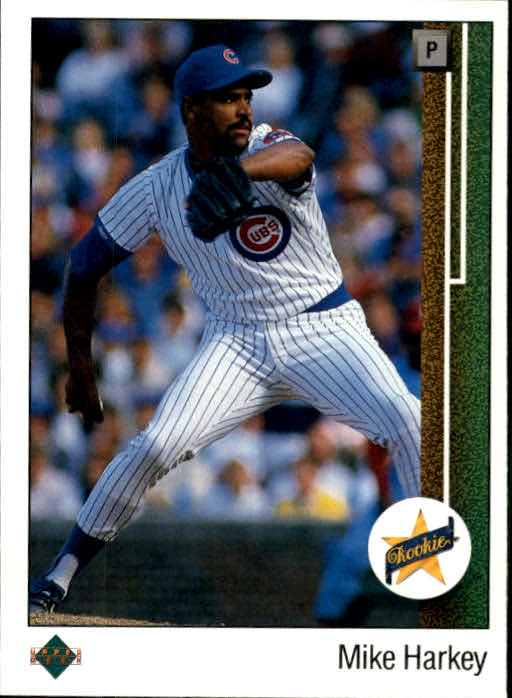 1989 Upper Deck #14 Mike Harkey RC