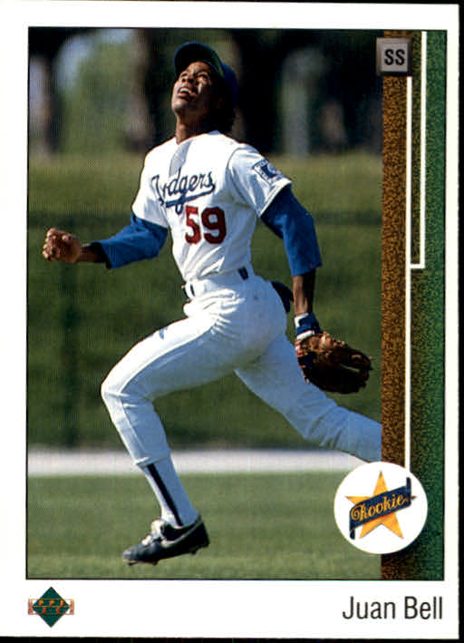 1989 Upper Deck #20 Juan Bell RC