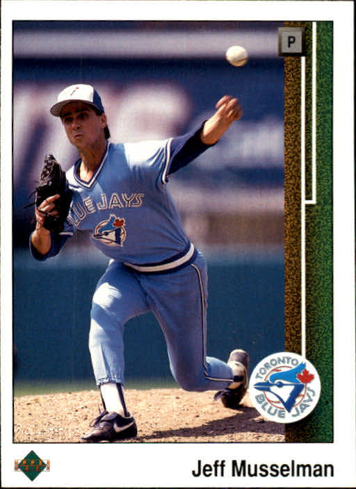 1989 Upper Deck #41 Jeff Musselman