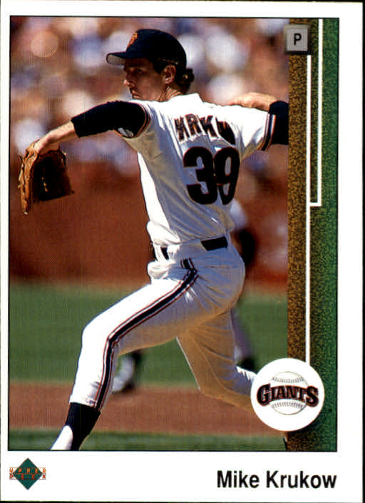 1989 Upper Deck #46 Mike Krukow