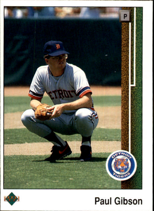 1989 Upper Deck #47 Paul Gibson