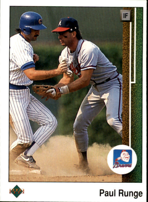1989 Upper Deck #55 Paul Runge