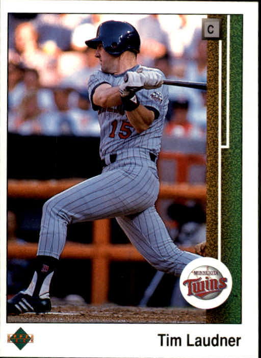 1989 Upper Deck #62 Tim Laudner
