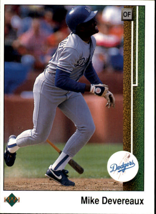 1989 Upper Deck #68 Mike Devereaux