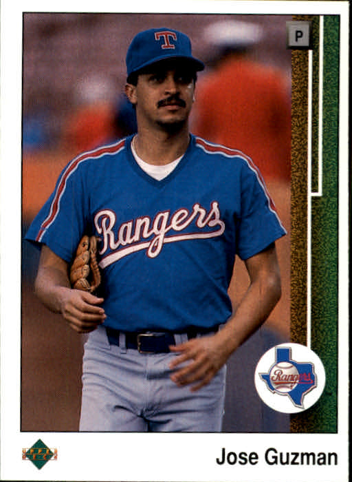 1989 Upper Deck #73 Jose Guzman