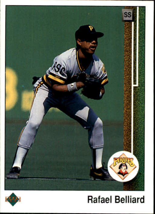1989 Upper Deck #90 Rafael Belliard UER/(Born '61& not '51)