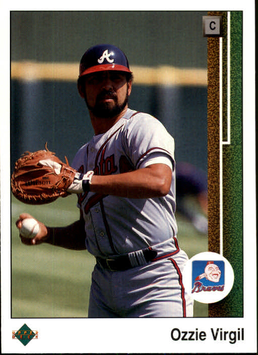 1989 Upper Deck #104 Ozzie Virgil