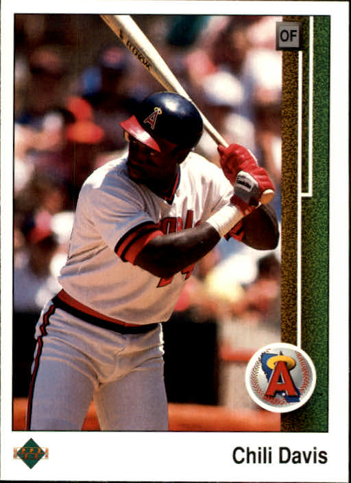 1989 Upper Deck #126 Chili Davis