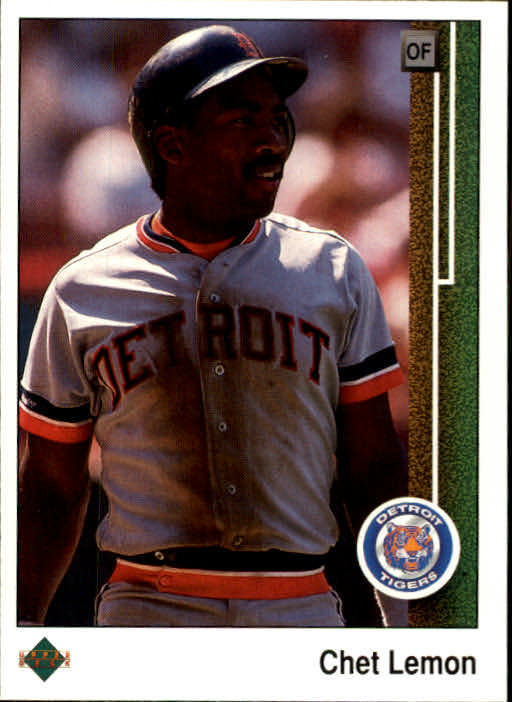 1989 Upper Deck #128 Chet Lemon