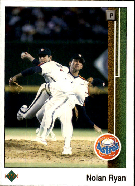 1989 Upper Deck #145 Nolan Ryan 3X