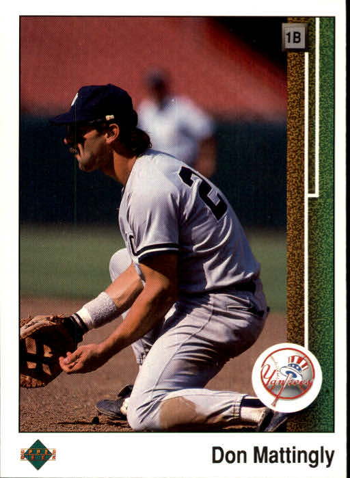 1989 Upper Deck #200 Don Mattingly