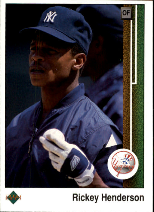 1989 Upper Deck #210 Rickey Henderson