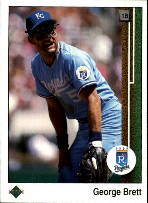 1989 Upper Deck #215 George Brett