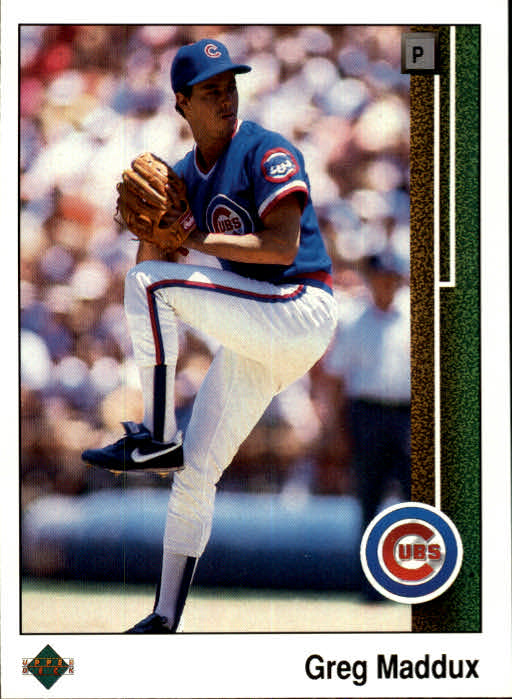 1989 Upper Deck #241 Greg Maddux