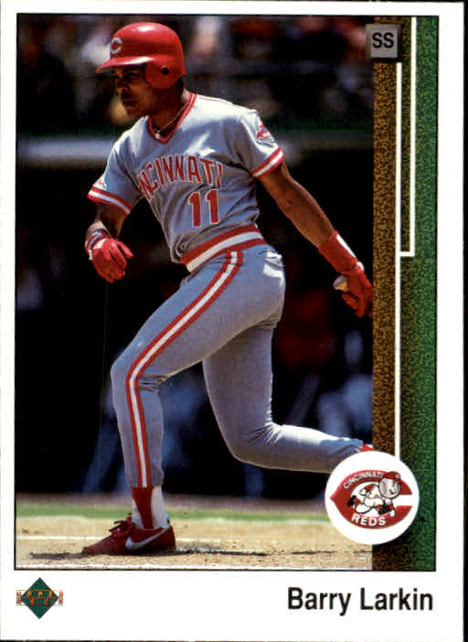 1989 Upper Deck #270 Barry Larkin