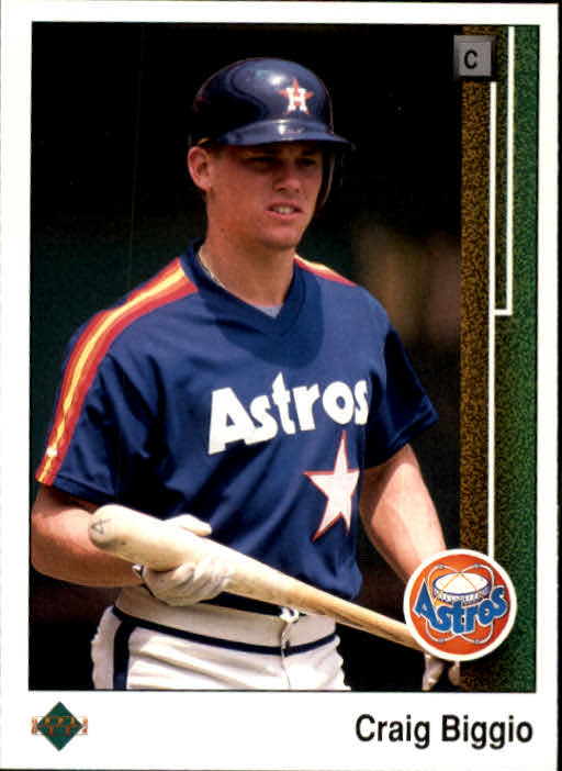 1989 Upper Deck #273 Craig Biggio RC
