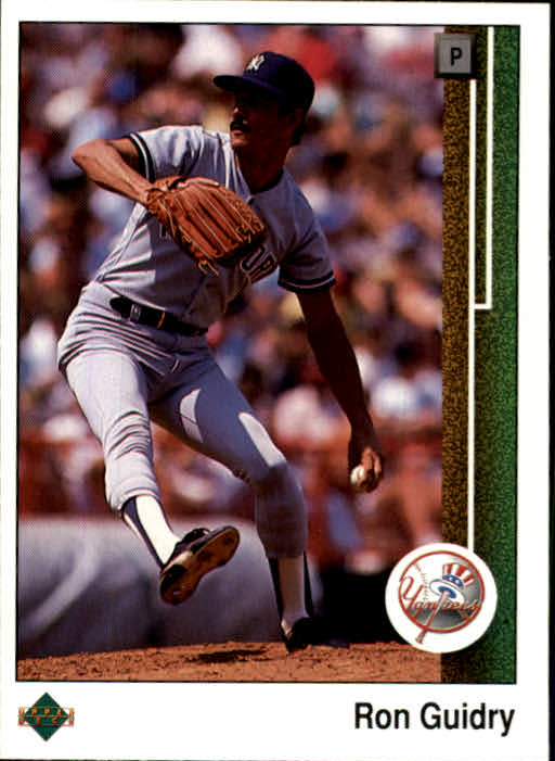 1989 Upper Deck #307 Ron Guidry