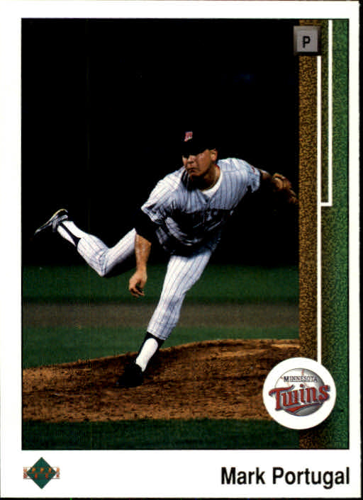 1989 Upper Deck #358 Mark Portugal