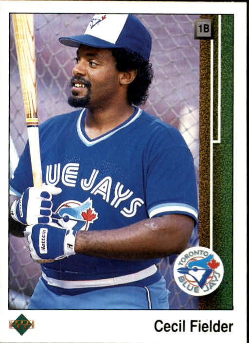 1989 Upper Deck #364 Cecil Fielder