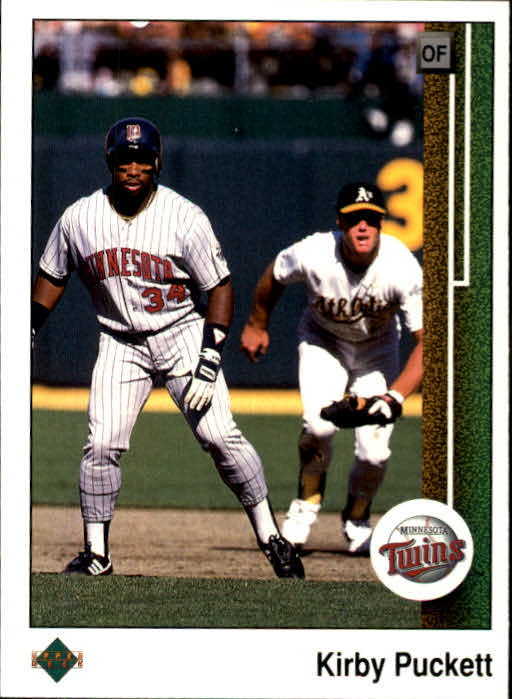 1989 Upper Deck #376 Kirby Puckett